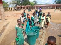 Water well at Kankao Full Primary School Balaka